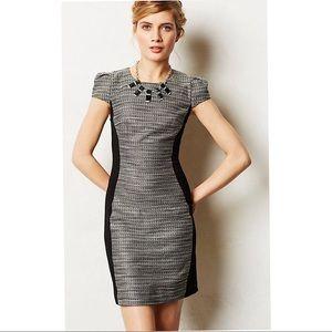 Moulinette Soeurs Shimmery Hourglass Tweed Dress